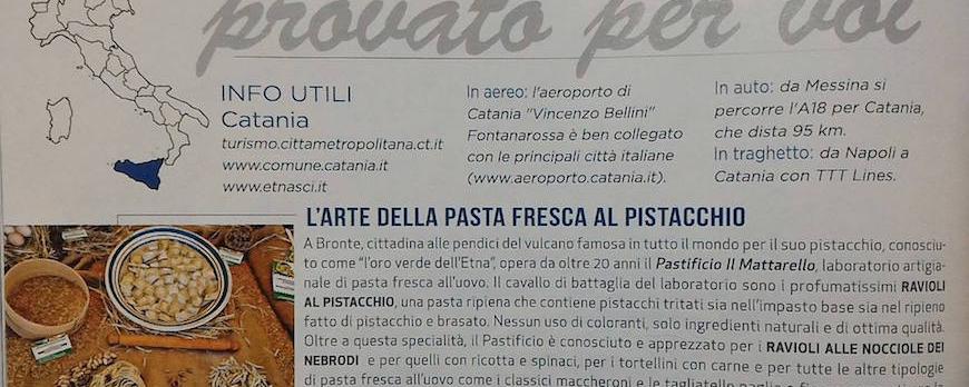 La nostra azienda sulla rivista That's Italia