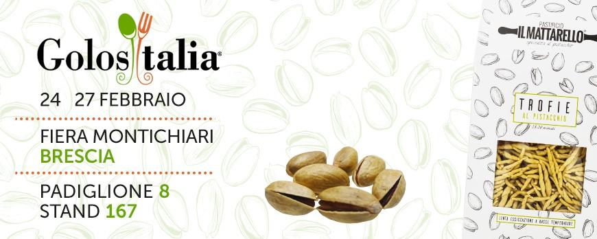 Pastificio IL MATTARELLO a Golositalia 24-27 Febbraio