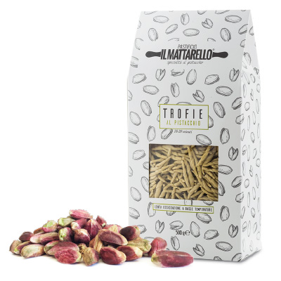 Trofie al pistacchio di bronte