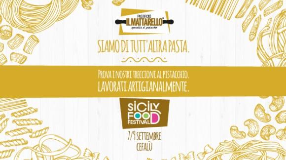 Pastificio Il Mattarello al Sicily Food Festival di Cefalù 7-9 settembre